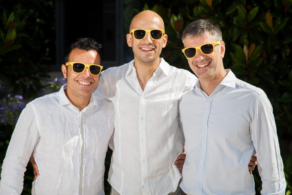 El equipo fundador de Happyforce