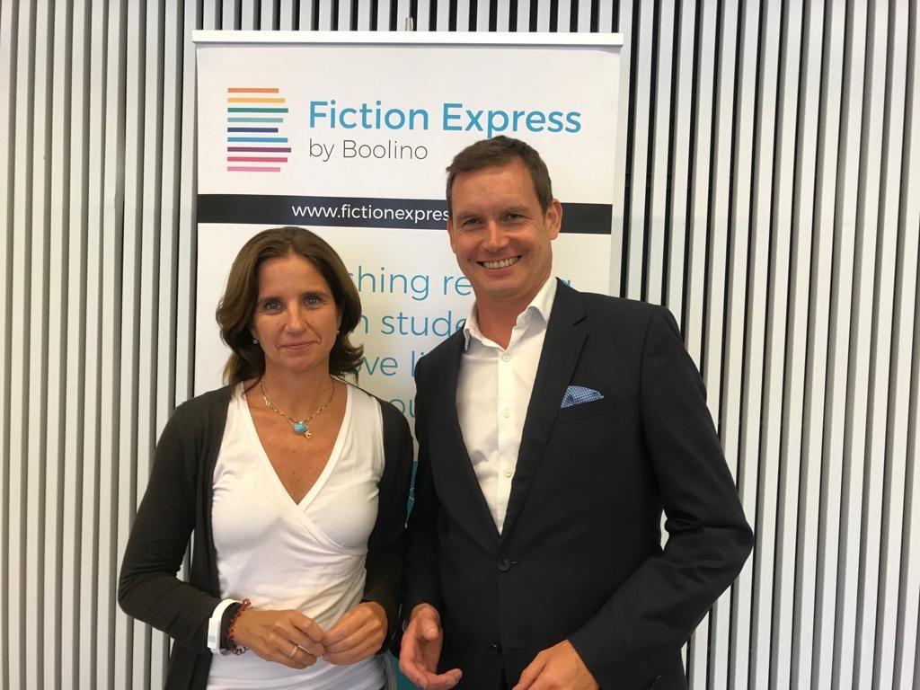 Fiction Express: una plataforma colaborativa para atraer a la lectura a los más jóvenes