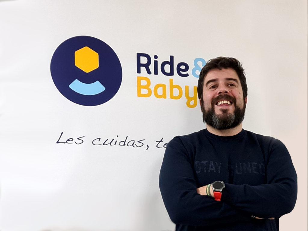"""Carlos Escobedo, fundador de Ride&Go: """"como emprendedor es muy complicado intentar saber de todo""""."""