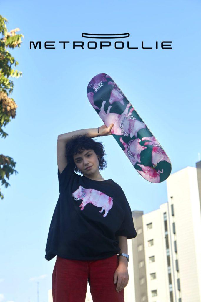 Metropollie, una marca online de Skateboard y ropa urbana con conciencia social